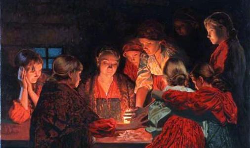 Крещенское гадание на судьбу