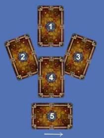 "Расклад ""Пять карт"""