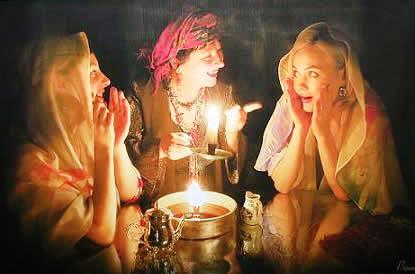 Гадание в святки как гадать