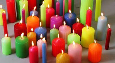 Какой цвет свечи выбрать  для гадания