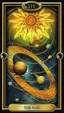 Значение карты Солнце