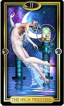 Верховная жрица - второй старший аркан Таро