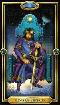 Значение карты Король Мечей