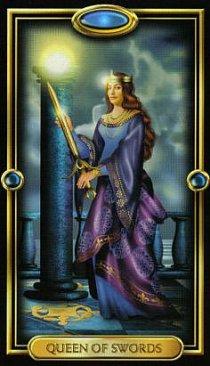 Значение карты Королева Мечей